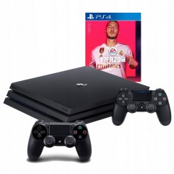SONY PLAYSTATION 4 PRO 1TB PS4+2X PAD + FIFA 20 PL