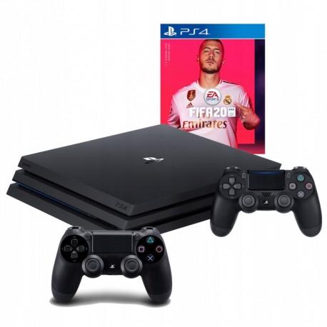 SONY PLAYSTATION 4 PRO 1TB PS4+2X PAD + FIFA 20 PL