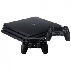 KONSOLA SONY PLAYSTATION 4 PRO 1TB PS4+2x PAD