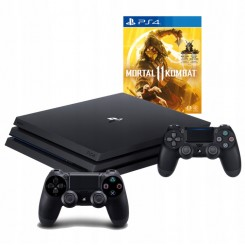 PLAYSTATION 4 PRO 1TB PS4+2X PAD+ MORTAL KOMBAT 11