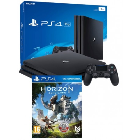 PS4 KONSOLA PRO 1TB+HORIZON ZERO DAWN
