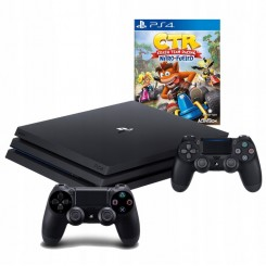 PLAYSTATION 4 PRO 1TB PS4+2X PAD+CTR NITRO FUELED