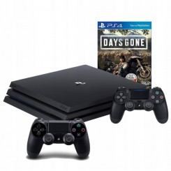 PLAYSTATION 4 PRO 1TB PS4+2X PAD + DAYS GONE