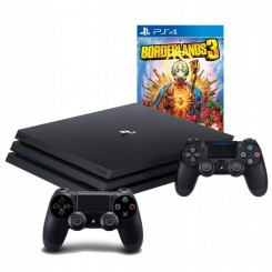 PLAYSTATION 4 PRO 1TB PS4+2X PAD+ BORDERLANDS 3