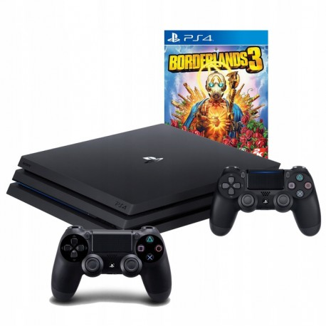 PLAYSTATION 4 PRO 1TB PS4+2X PAD+ BORDERLANDS 3