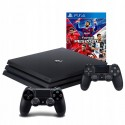 PLAYSTATION 4 PRO 1TB PS4+2X PAD + PES 2020