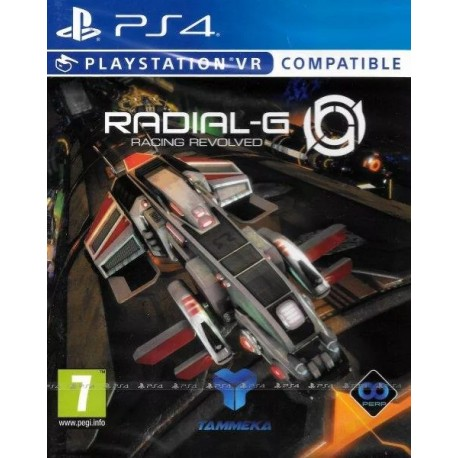 PS4 RADIAL-G RACING REVOLVED