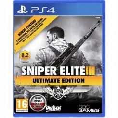PS4 SNIPER ELITE 3 III ULTIMATE EDITION