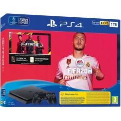 KONSOLA PS4 SLIM 1TB + 2x PAD + FIFA 20