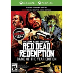 XBOX 360 XBOX ONE RED DEAD REDEMPTION GOTY