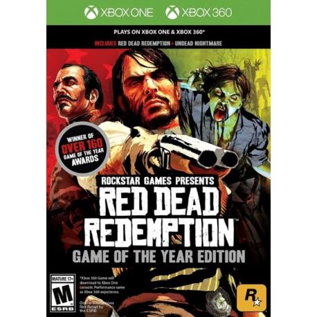 XBOX 360 XBOX ONE RED DEAD REDEMPTION GOTY
