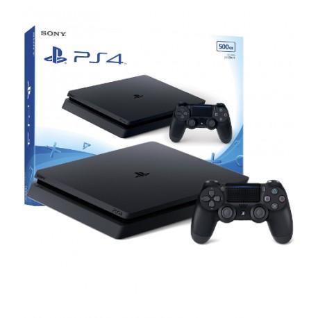 PS4 KONSOLA SLIM 500GB + PAD