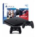 PS4 SLIM 500GB+2x PAD+UFC + DRIVECLUB