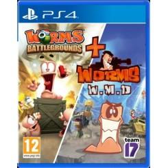 PS4 WORMS BATTLEGROUNDS + WMD
