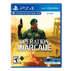 PS4 OPERATION WARCADE PLAYSTATION VR