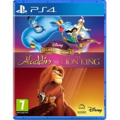 PS4 DISNEY CLASSIC GAMES ALADDIN AND THE LION KING