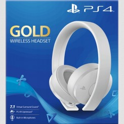 PS4 / PS3 / PS VITA HEADSET SONY GOLD 7.1 BIAŁY