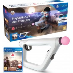 PS4 FARPOINT + AIM KONTROLER PISTOLET MOVE