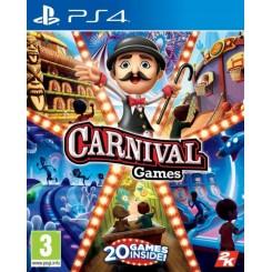 PS4 CARNIVAL GAMES - 20 GIER