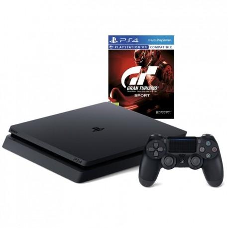 PS4 SLIM 1TB + PAD + GRAN TURISMO SPORT