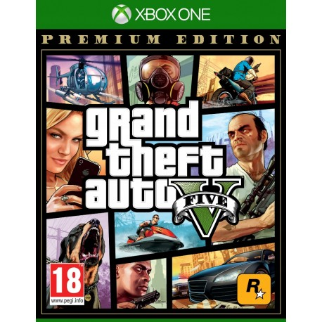 XBOX ONE GRAND THEFT AUTO V GTA 5 PL ED. PREMIUM