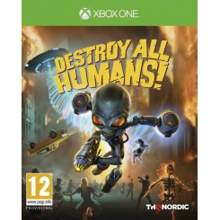 XBOX ONE DESTROY ALL HUMANS!