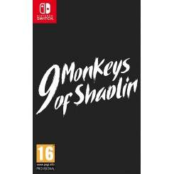 SWITCH 9 MONKEYS OF SHAOLIN