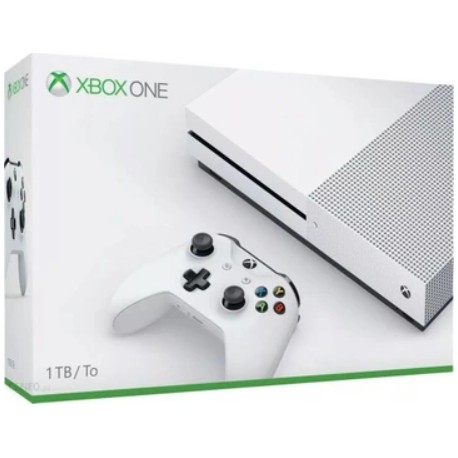 XBOX ONE S 1TB +2x PAD 4K + FIFA 20+ WIEDŹMIN III