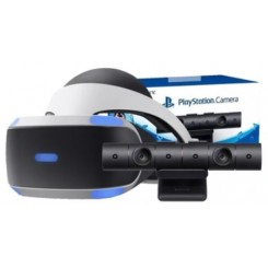 PS4 GOGLE VR HEADSET + KAMERA