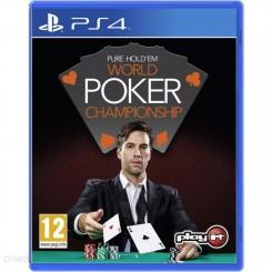 PS4 PURE HOLD'EM WORLD POKER CHAMPIONSHIP