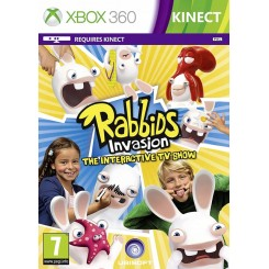 XBOX 360 RABBIDS INVASION: THE INTERACTIVE TV SHOW