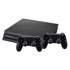 PS4 PRO 1TB MOTYW THE LAST OF US 2 + 2X PAD