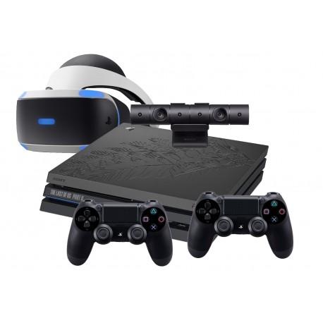 PS4 PRO 1TB MOTYW TLOU 2+2x PAD+GOGLE VR V2+KAMERA