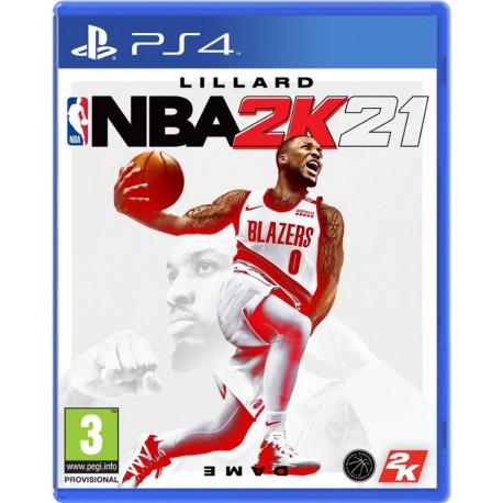 PS4 NBA 2K21