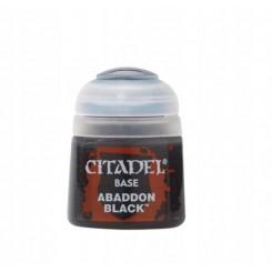 GAMES WORKSHOP CITADEL BASE ABADDON BLACK